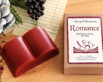 Romance Novel Bar Soap