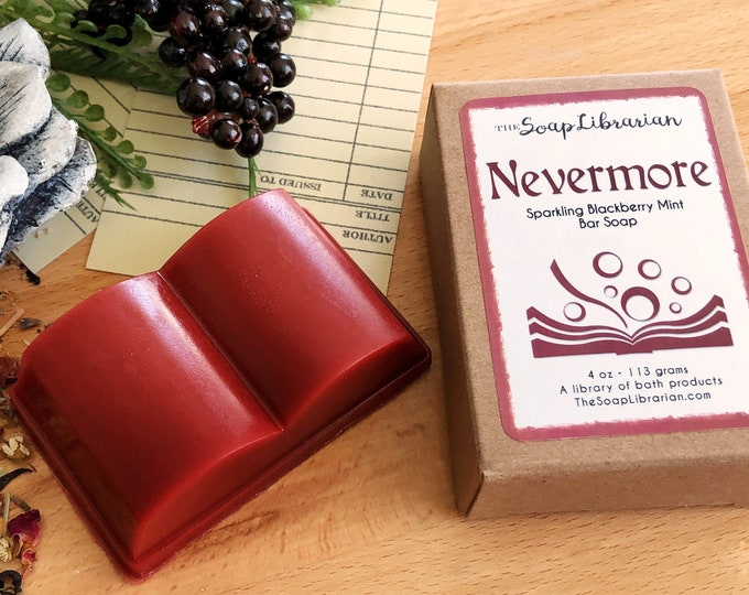 Featured listing image: Nevermore Bar Soap