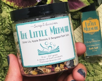 16 Ounce The Little Mermaid Bath Salts