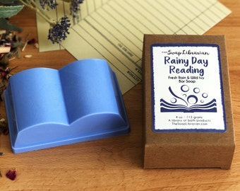 Rainy Day Reading Bar Soap