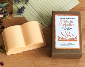 Pride and Prejudice Bar Soap