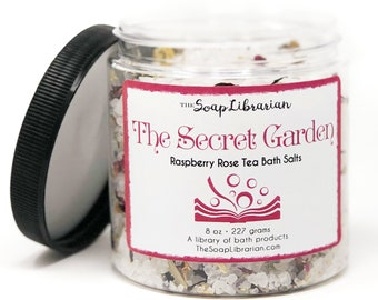 16 Ounce The Secret Garden Bath Salts