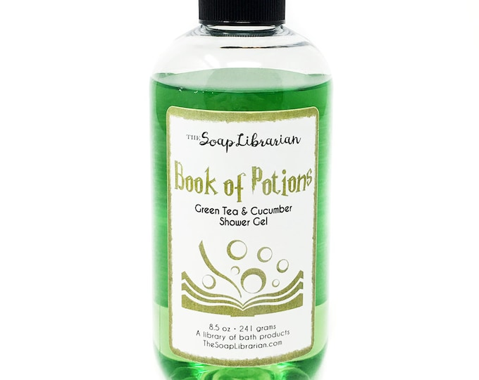 Featured listing image: Book of Potions Shower Gel