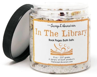 16 Ounce In The Library Bath Salts