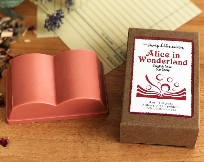 Alice in Wonderland Bar Soap