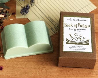 Book of Potions Bar Soap