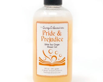 Pride and Prejudice Shower Gel