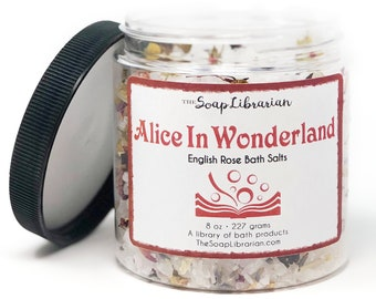 16 Ounce Alice in Wonderland Bath Salts