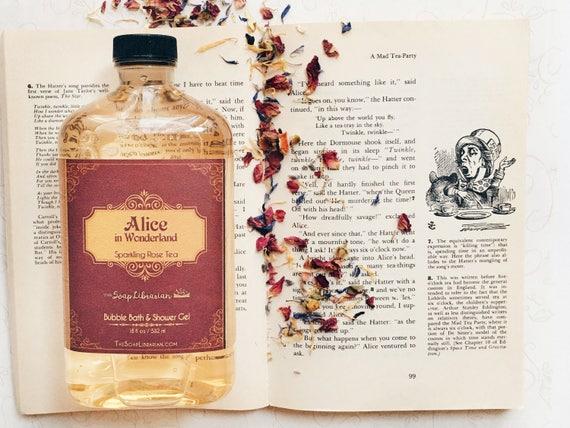 Alice in Wonderland Bubble Bath & Shower Gel