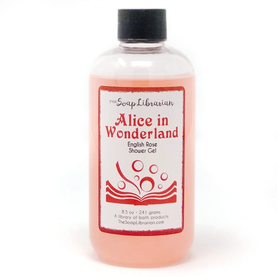 Alice in Wonderland Shower Gel