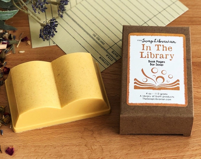 In The Library Bar Soap