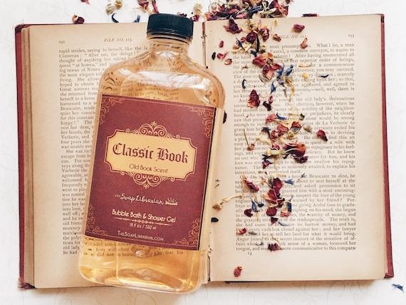 Classic Book Bubble Bath & Shower Gel