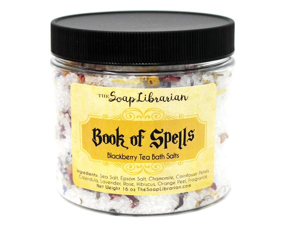 Book of Spells Bath Salts - Blackberry Tea