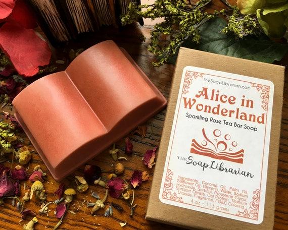 Alice in Wonderland Bar Soap