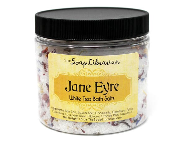 Jane Eyre Bath Salts - White Tea