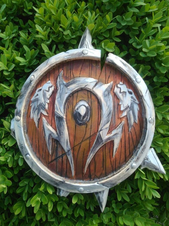 Orc S Crest From World Of Warcraft Horde Wow Blizzard Etsy