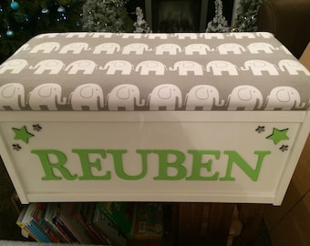 wooden toy box, toy chest, storage box, toy storage, personalised toy box, toy tidy, childrens to box,