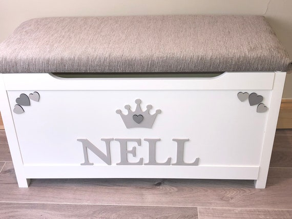 Personalised Toy Box Wooden Box Living Room Storage Boys Etsy