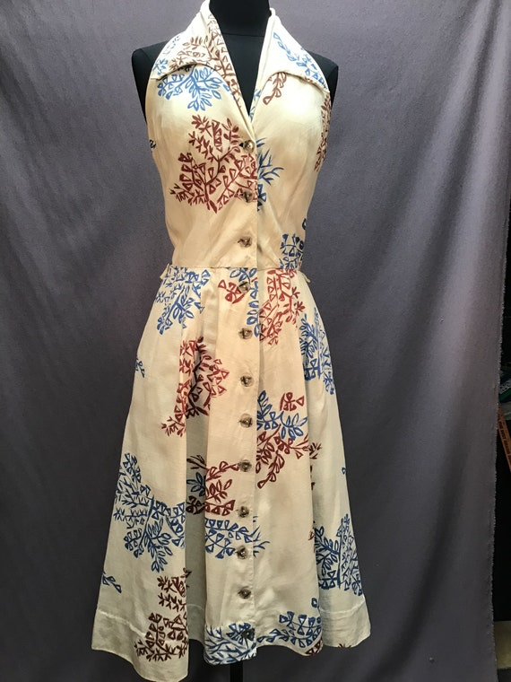 Authentic Vintage 1950s Freshy Athletic Halter To… - image 3