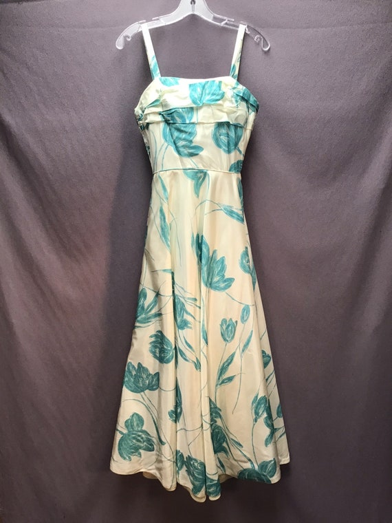 True Vintage Late 1950s 1960s Sundress Gown