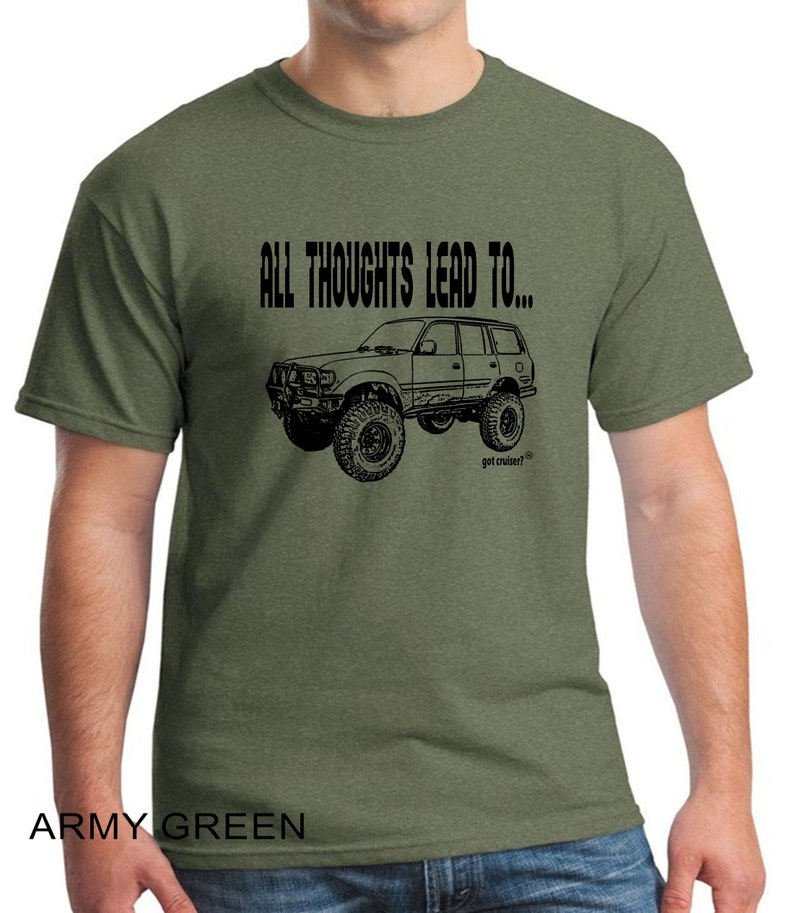 All Thoughts Lead To . . . with Land Cruiser Image design image 0
