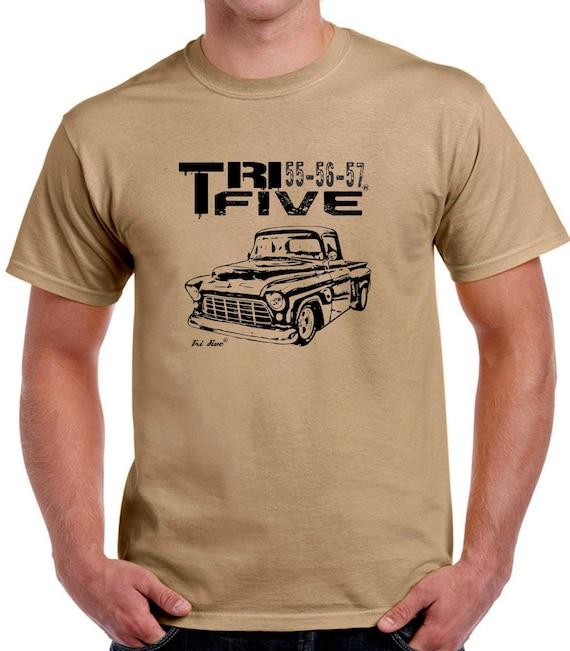 55 56 57 Pickup T Shirt 1955 1956 1957 Chevy Truck Tee Chevrolet M L XL 2XL 3XL