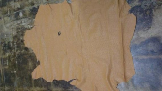 "Italian Lambskin Leather /""Paper Thin/"" Metallic Silver Blue 6 Sq.Ft 0.7 oz"