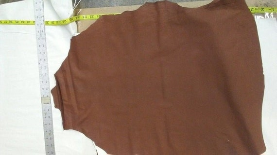 Lambskin Top Quality leather skin hide Blanc 8 Sq.Ft.