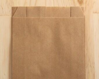 Set of 25 Kraft envelopes 12 x 19 cm, gift package