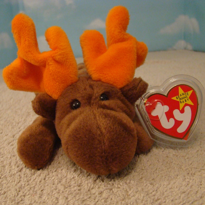 68e93c9ce80 Chocolate the Moose Ty Beanie Baby