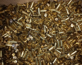 9mm Once Fired Brass – Cleaned/Shined or Unprocessed – Qty: 500