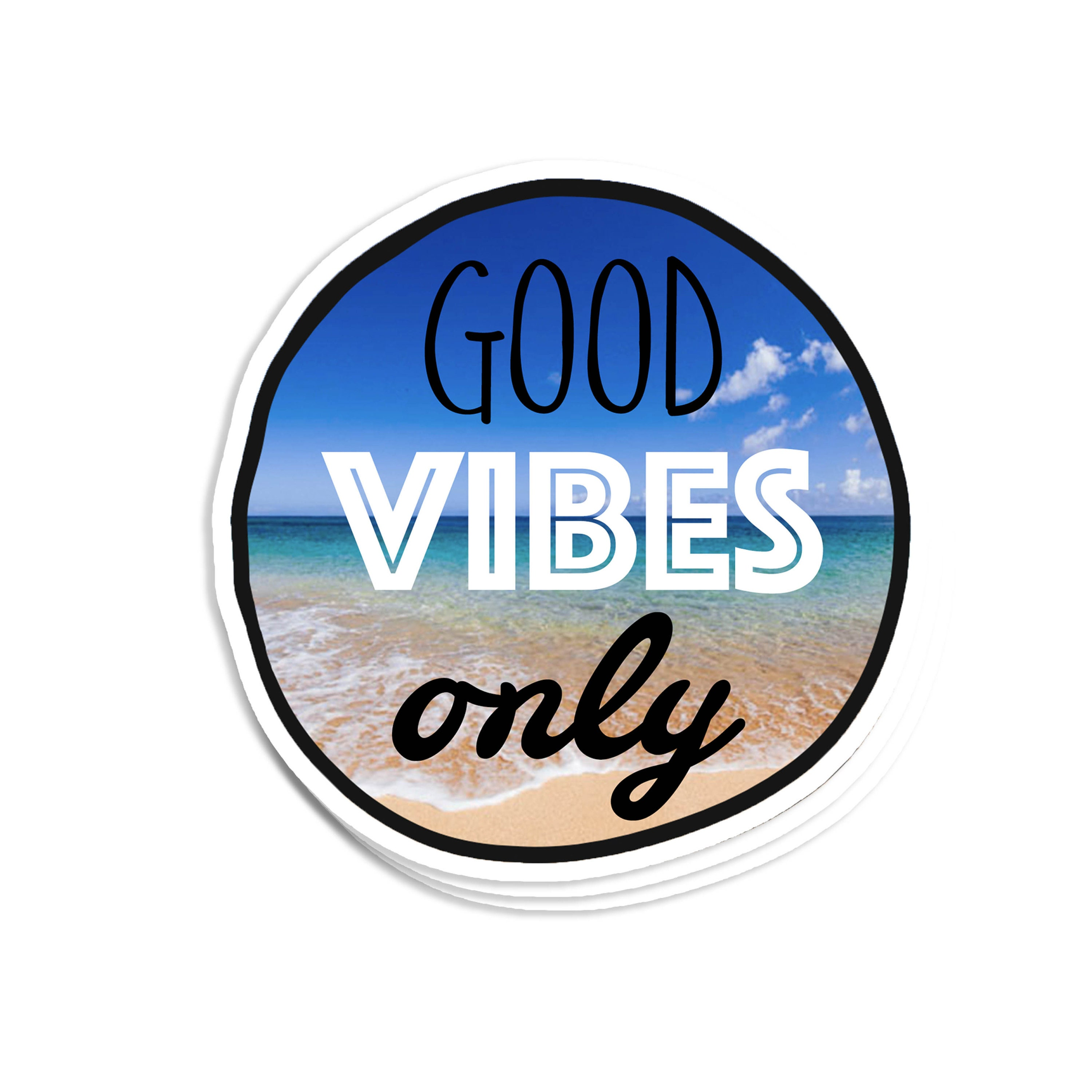 Chingona Vibes Only Vinyl Sticker Decal