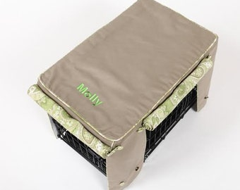 Monogram Your Crate Cover