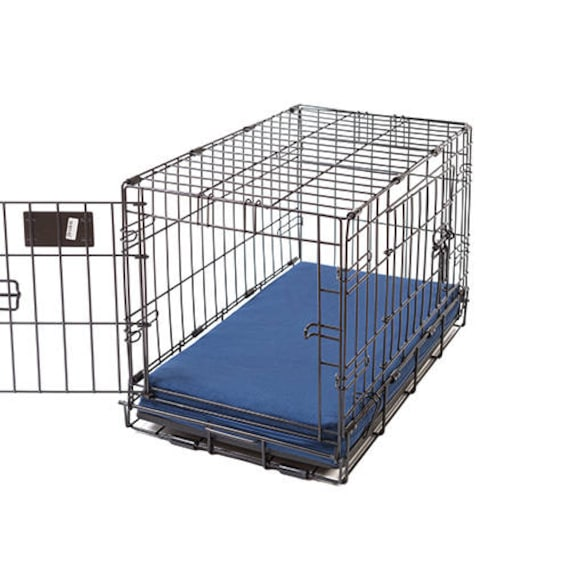 Sailor Blue Memory Foam Crate Crate Pads For Dogs With Etsy