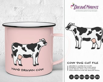 Cow Svg Farm Animals Svg Cut File, Farm SVG, Farm House svg Sign Making Svg Files for Cutting and Printing DOP258