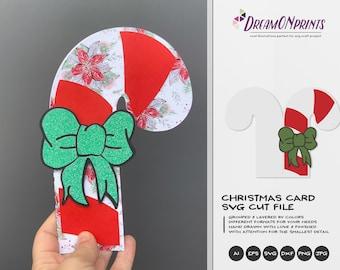 DIY Christmas Card | Christmas 3D Layered Design | Christmas Multi Layer Design