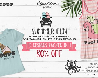 Summer Fun | Funny Beach SVG Bundle