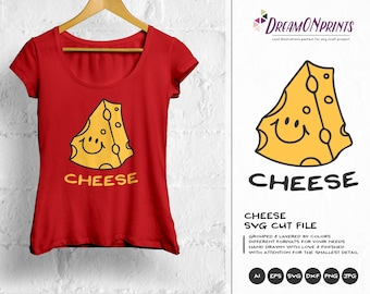 Say Cheese SVG Cheese svg, Photography Fun Svg Cut Files SVG Cutting File for Cricut or Silhouette, Photographer svg, Wedding SVG DOP077