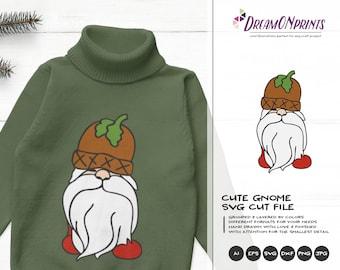 Pappa Gnome Christmas SVG | Christmas Family Design | Gnome  Cut Files