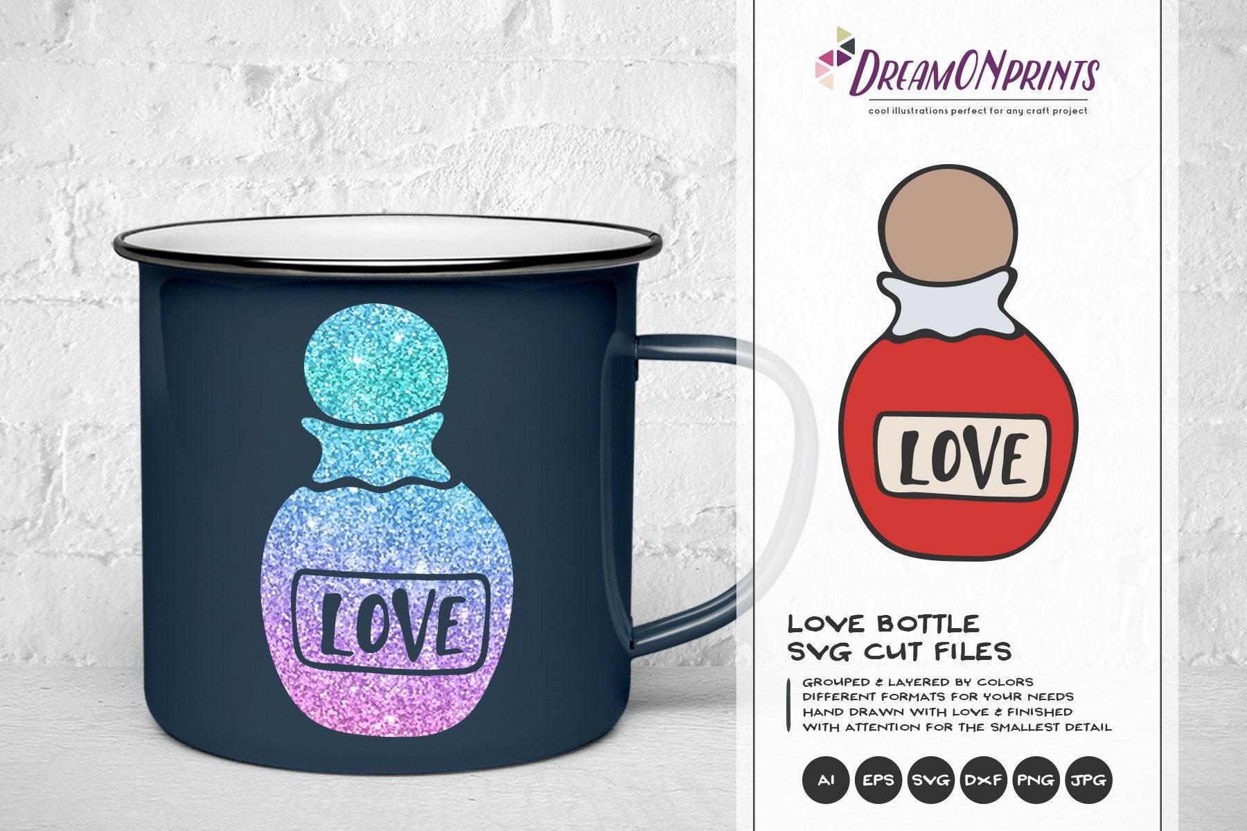 Love Potion Svg Xoxo Svg Hugs And Kisses Svg Bottle Svg Heart Svg Married Svg For Cricut Svg For Silhouette Dop157