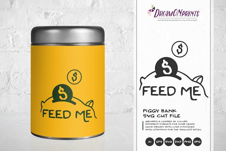 Download Piggy Bank SVG Savings Svg Funds Svg Money Svg Cut Files ...