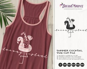 Flamingo SVG Long Island | Fun Party Design
