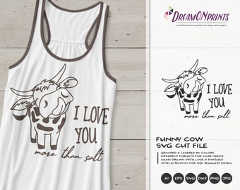Cow Svg | Farm Animals Svg Cut File | Farm SVG | Farm House svg | Sign Making Svg Files