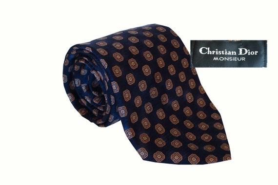 Vintage 70's Dior Tie, Christian Dior Vintage Tie,
