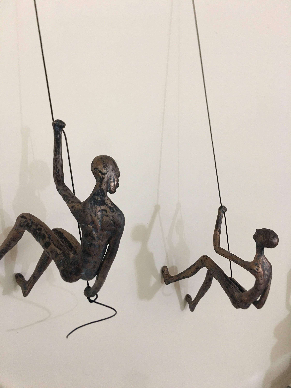 2 Stück Kletter-Skulptur-Wand-Kunst-Geschenk für | Etsy