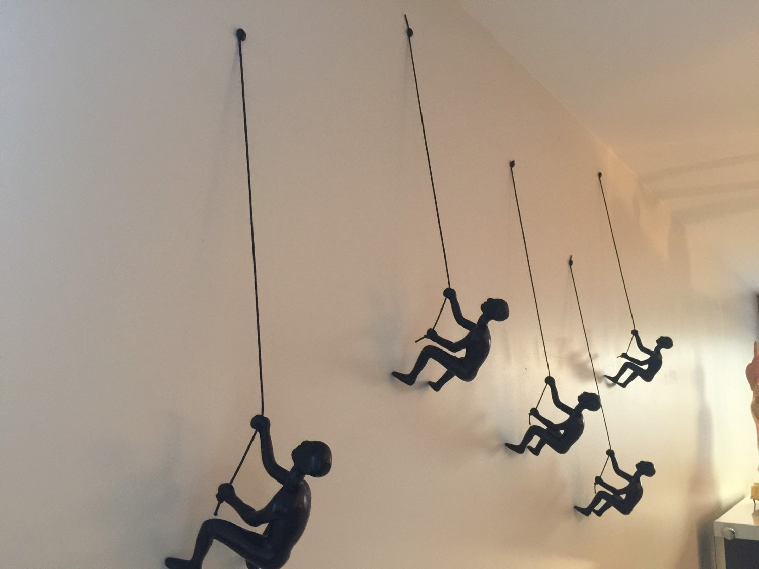 Climbing Man Wall Art