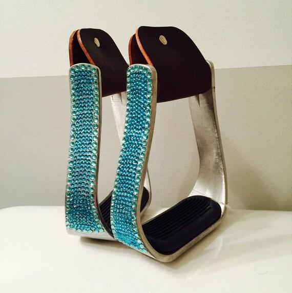 Solid Outline Bling Stirrups - Custom colours!