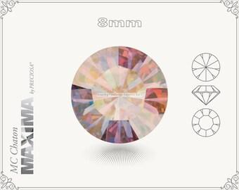 6 pc.+ SS39 (8mm) Preciosa MC Chaton MAXIMA - Hyacinth AB Color
