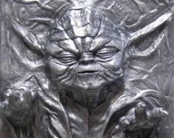 Jedi Yoda Carbonite
