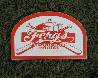 Ferg's Sign - Photo on Wood